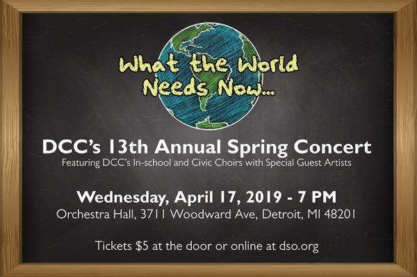 2019 DCC Spring Concert Website Page Banner